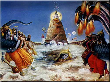 Samudra Manthan and Kumbh Mela