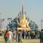 Lord Shiva in the camp of Dadda in kumbh mela 2013 sector 8