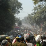 From tirvani road in kumbh mela 2013